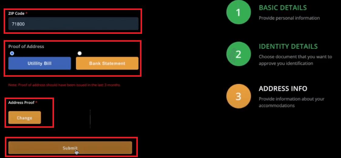 Spectre.ai میں اکاؤنٹ کو رجسٹر اور تصدیق کرنے کا طریقہ
